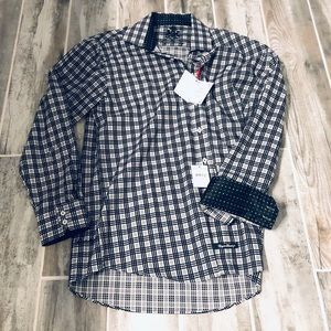 NWT MENS English laundry long sleeve button down